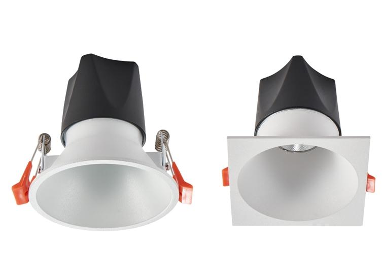 HLY-F8007 新款全压铸窄边深防眩射灯