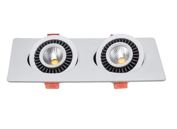 HLY-701B 万向可调超薄嵌入式射灯